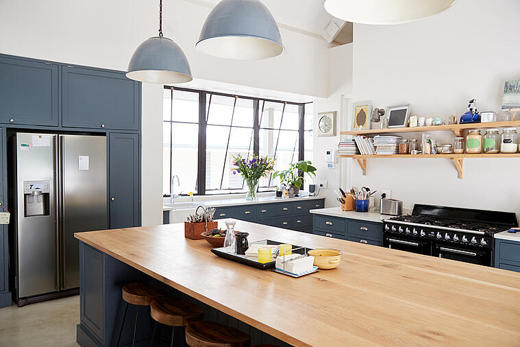 Make Your Kitchen Space Feel Bigger with These Interior Design Tips