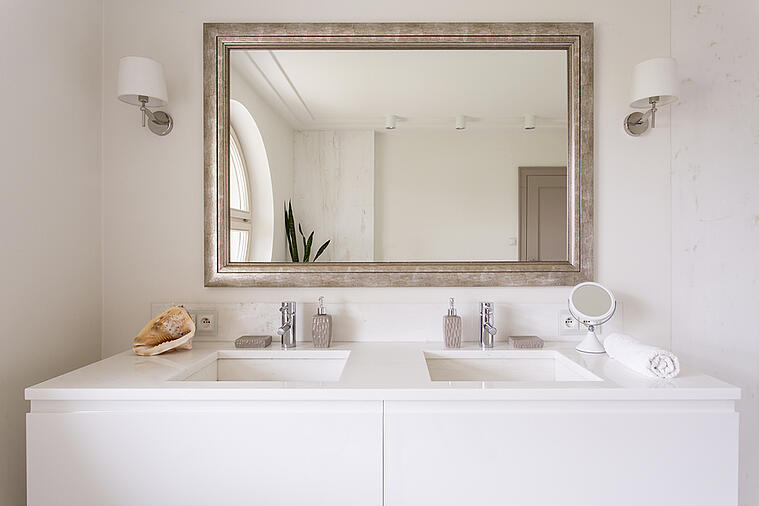Use These Unique Vanity-mirror Combinations to Add Eye-catching Style to Your Bathroom