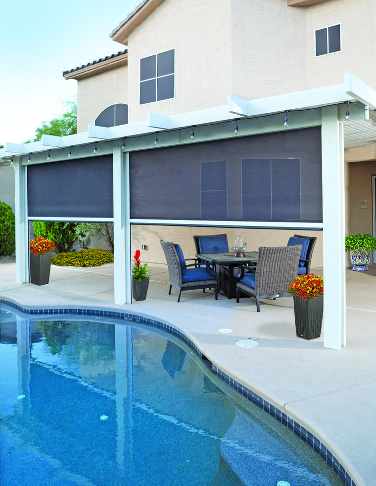 Preserve Your Outdoor Furniture with Exterior Shades