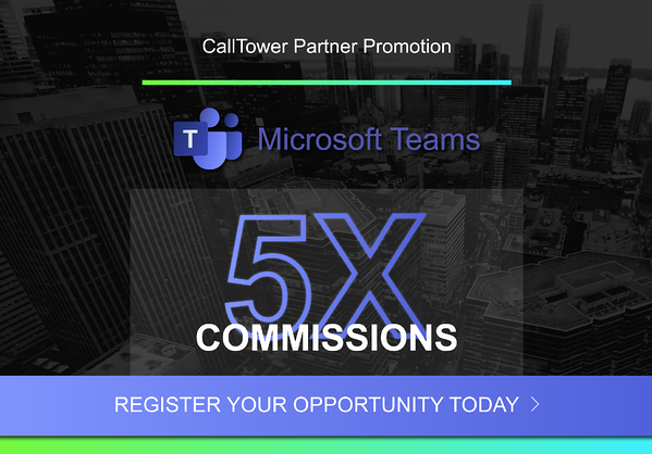 Microsoft Teams 5X SPIFF