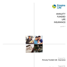 Annuity Funded Life Insurance Proposal