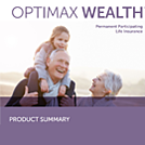 Optimax Weath Product Summary Flyer