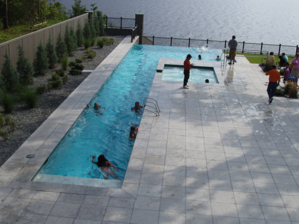 Describe the image for Concrete pool builders