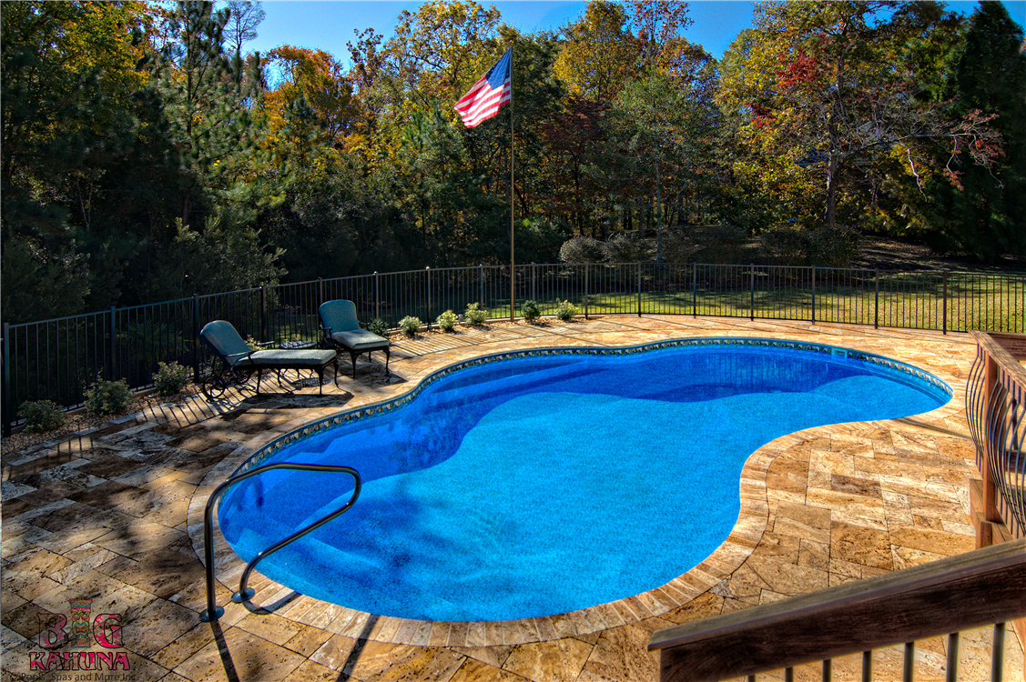 Pool gallery by big kahuna for Backyard makeover with pool