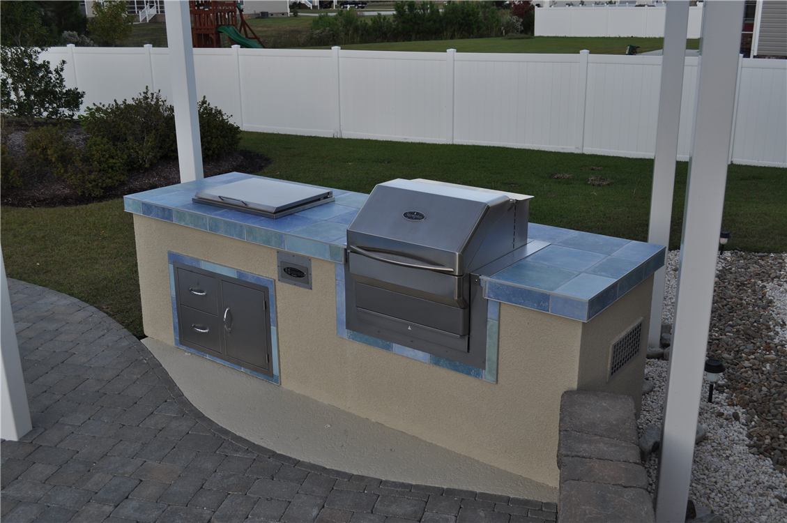 Outdoor kitchens for Building an outside kitchen
