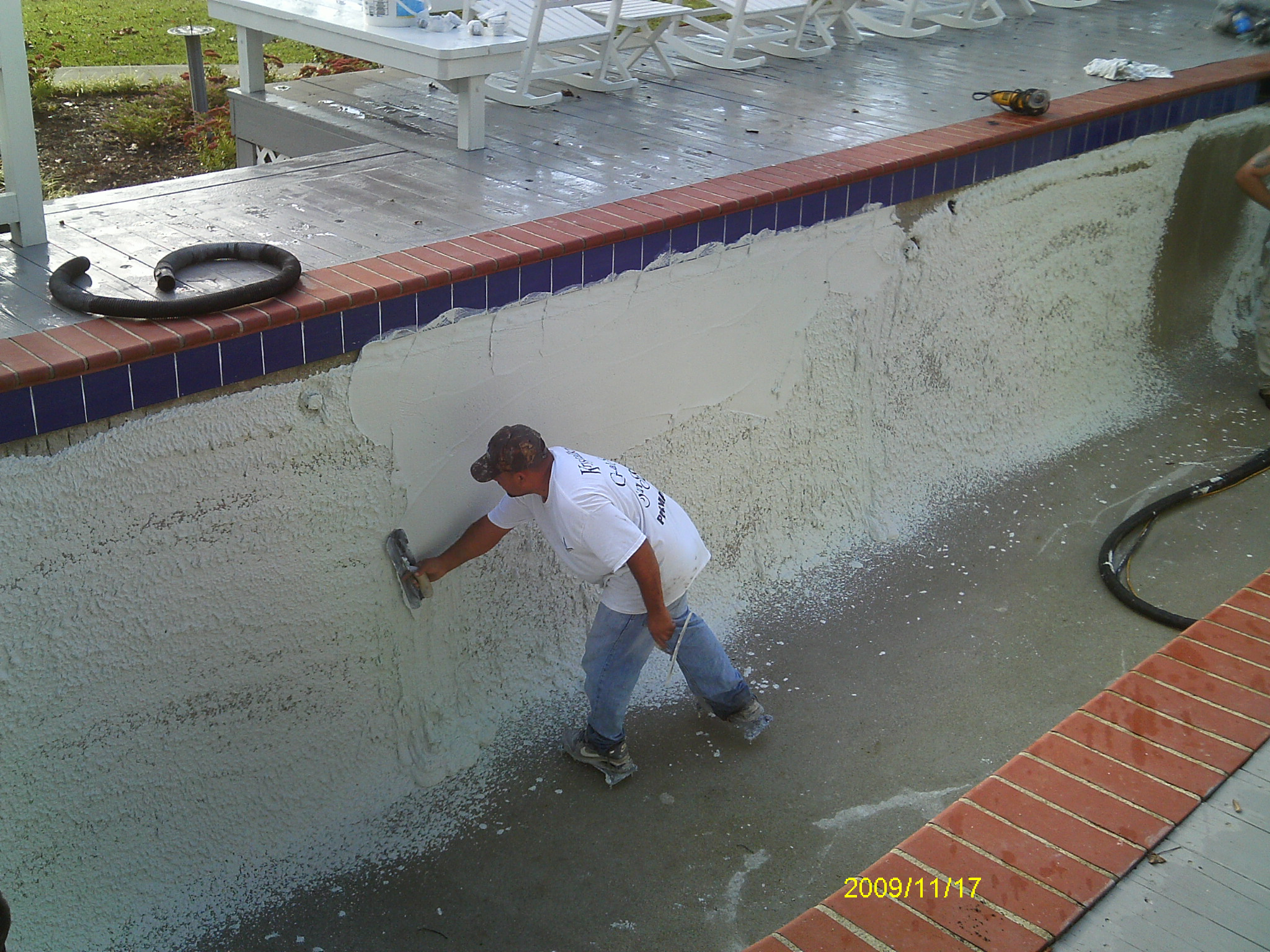 Swimming pool renovations commercial and residential for Pool plaster