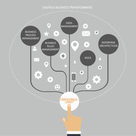 De Digitale Business Transformatie als basis voor het invoeren van de Omgevingswet tot en met het Omgevingsloket.