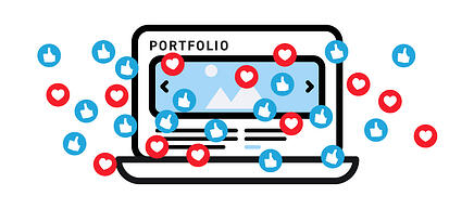 Design portfolios are the illustration of your personal brand. Is yours getting the attention you deserve from employers?