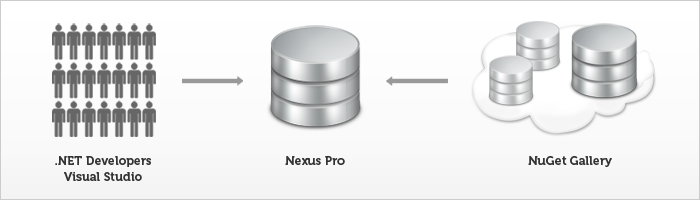 Start Proxying .NET Packages NuGet Gallery with Nexus Pro