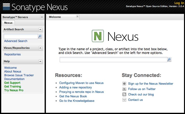 Now Available: Nexus OSS 2 0 4