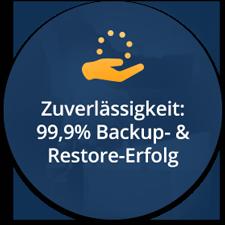Backup- und Restore-Zuverlässigkeit