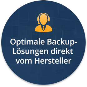 Datensicherung Software, Service, Support