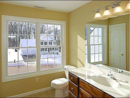 Low Maintenance Bathroom Windows