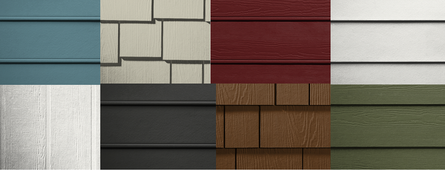 BRAX Roofing James HArdie siding comparison