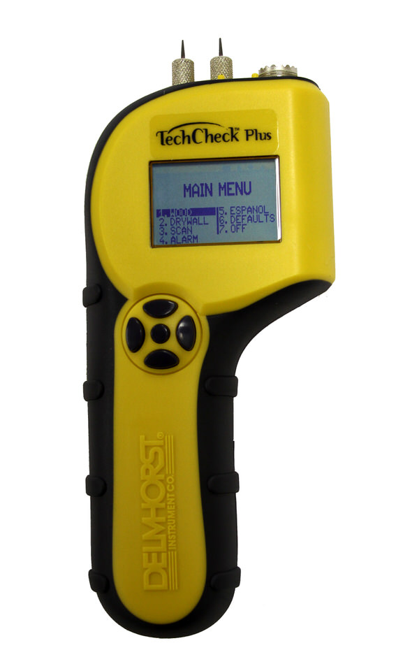 Moisture meters for flooring delmhorst for Wood floor moisture meter
