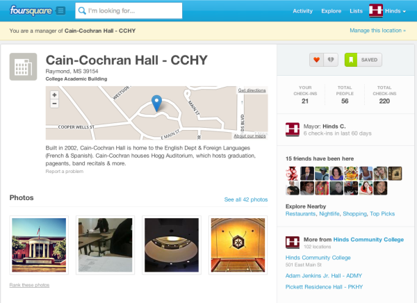 FourSquare Example