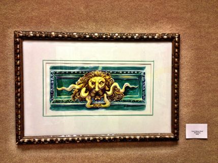 lion painting by Patti Henson