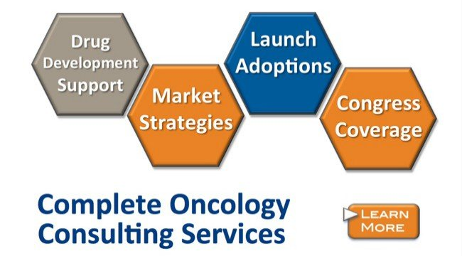Industry-leading oncology consulting services for the pharma and biotech industries
