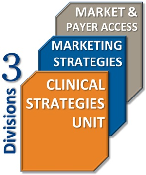 Offering 3 consulting divisions to meet your pharmaceutical and biotechnology marketing needs: Clinical, Marketing, and Market & Payer Access divisions.
