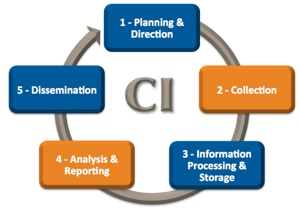 Pennside's 5-Step Competitive Intelligence Cycle for Pharma and Biotech. Learn more from our CI consultants.