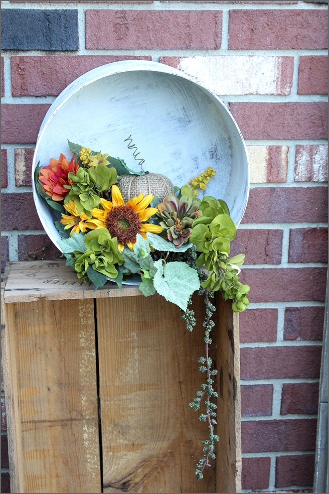 Festive Fall Hat Box