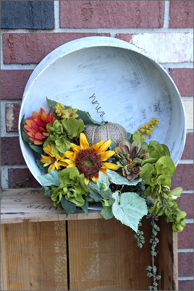 Festive Fall Hat Box DIY Decor