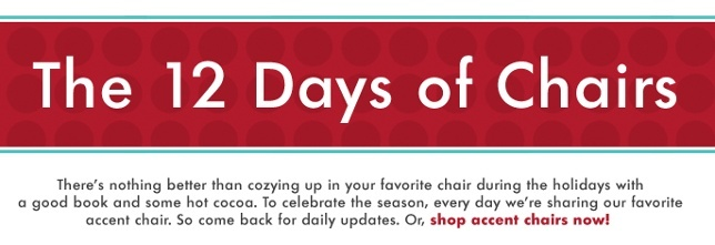 The 12 Days of Chairs