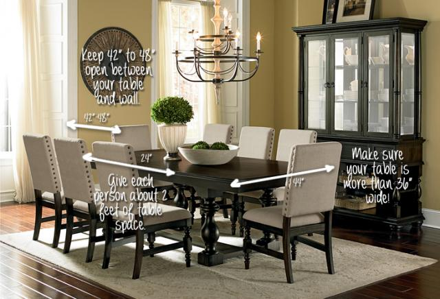 Dining Room Table Size