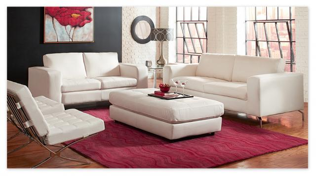 Casino Leather Sofa