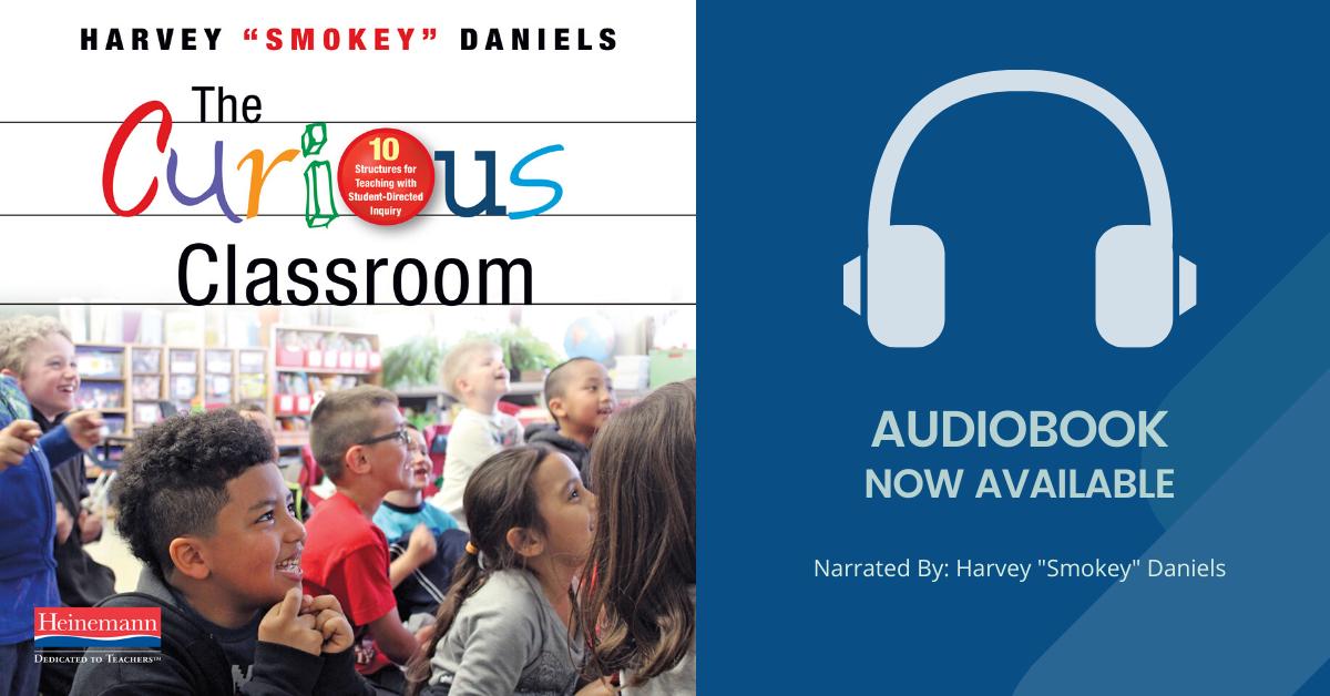 Curious Classroom Audiobook Blog Banner