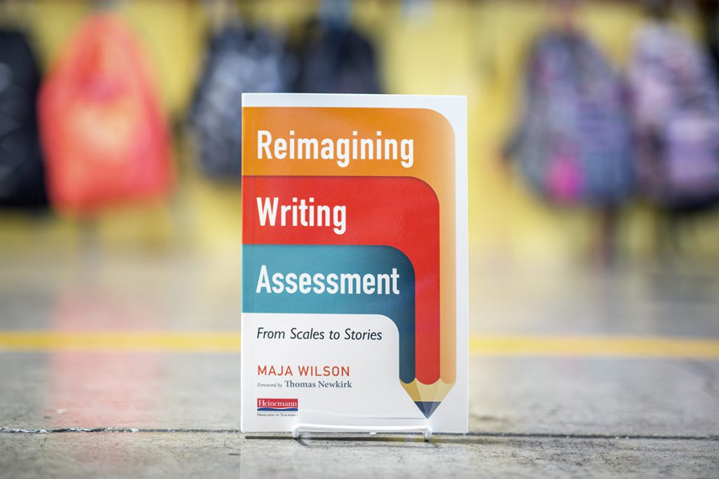 Reimagining Writing Assessment Maja Wilson book cover