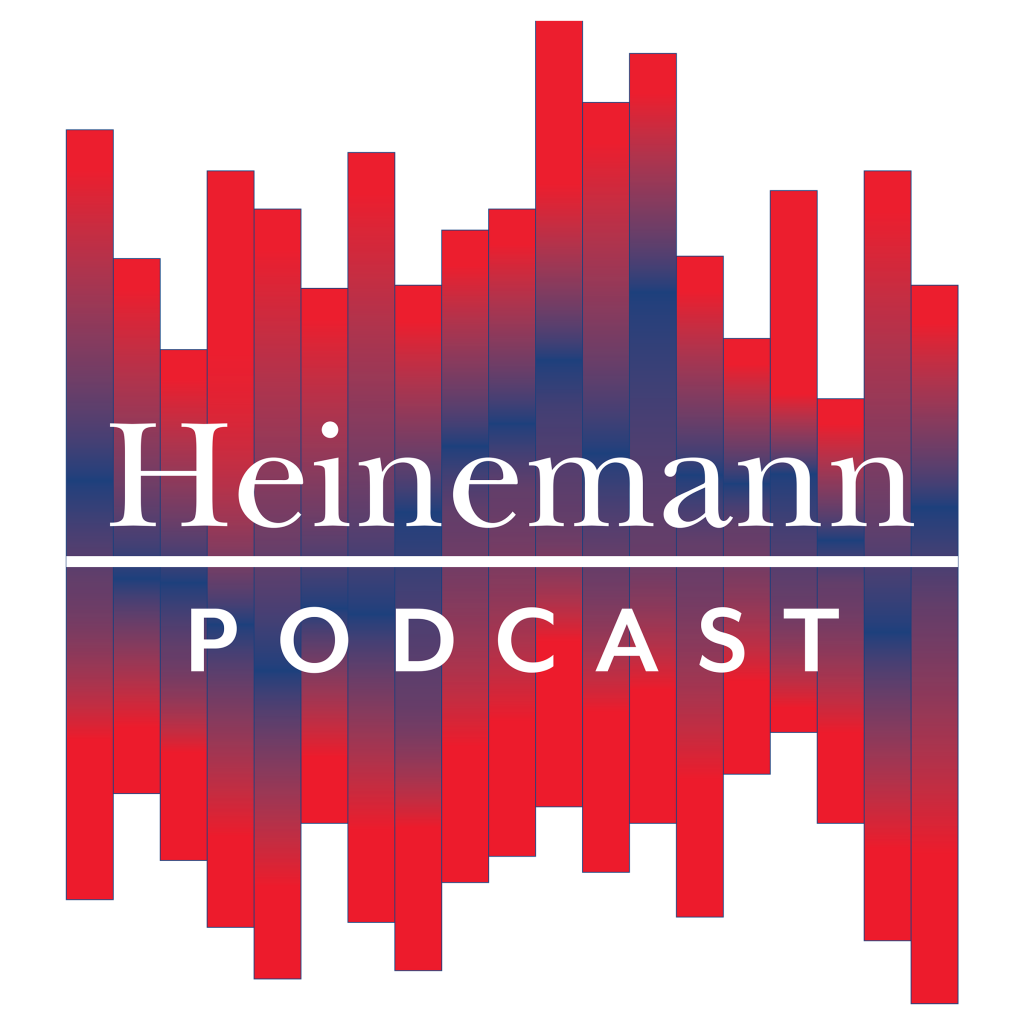 Heinemann-Podcast_LOGO_H-podcast-logo-bluerules2400x2400_WHITE