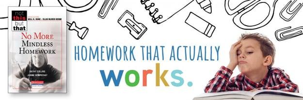 NTBT No More Mindless Homework Slider