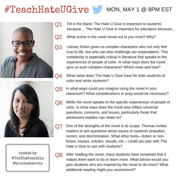 #TeachHateUGive All Questions copy
