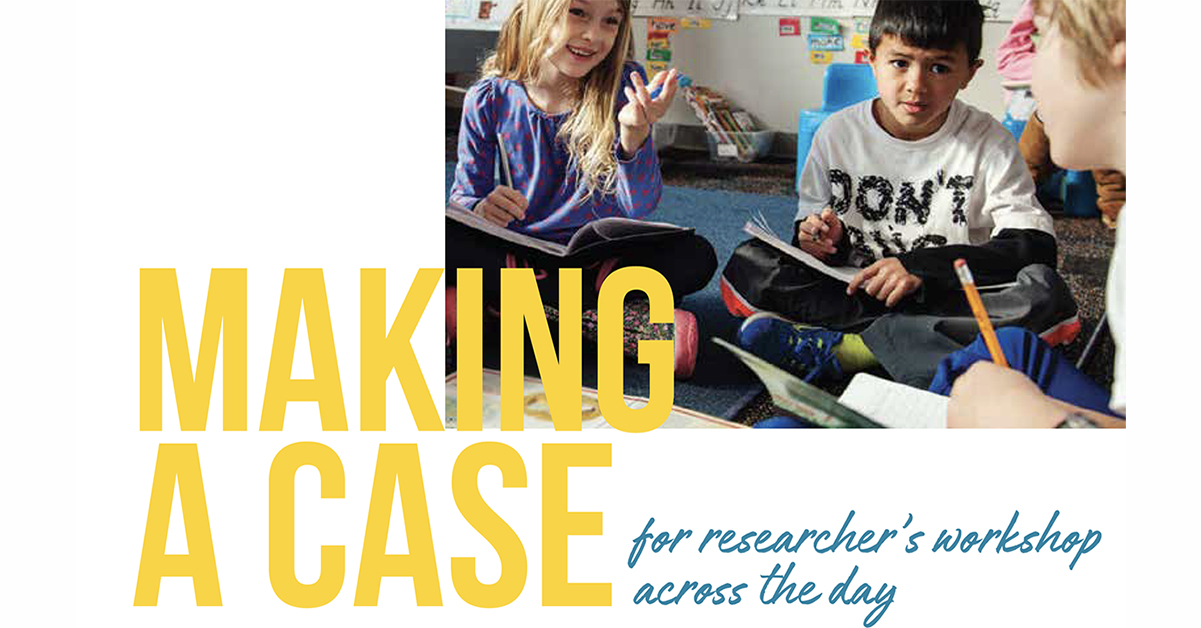 Making a case for Researchers Workshop