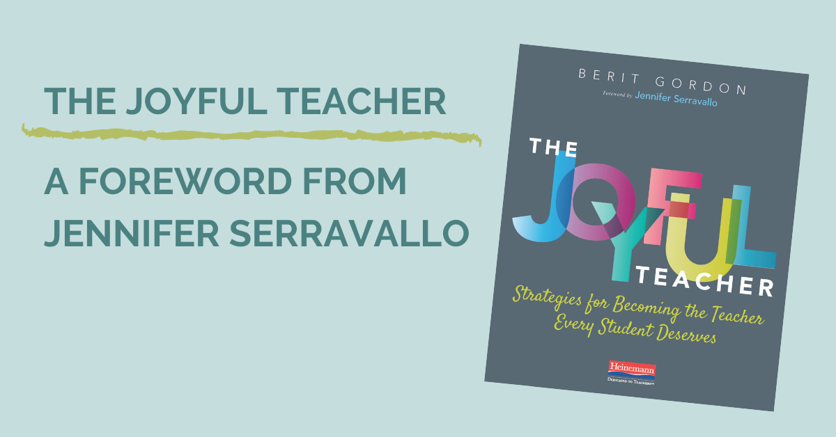 The Joyful teacher_ a foreword