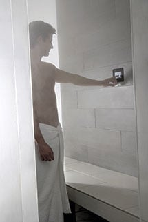 Find the right MrSteam steamshower control for your particular user style!