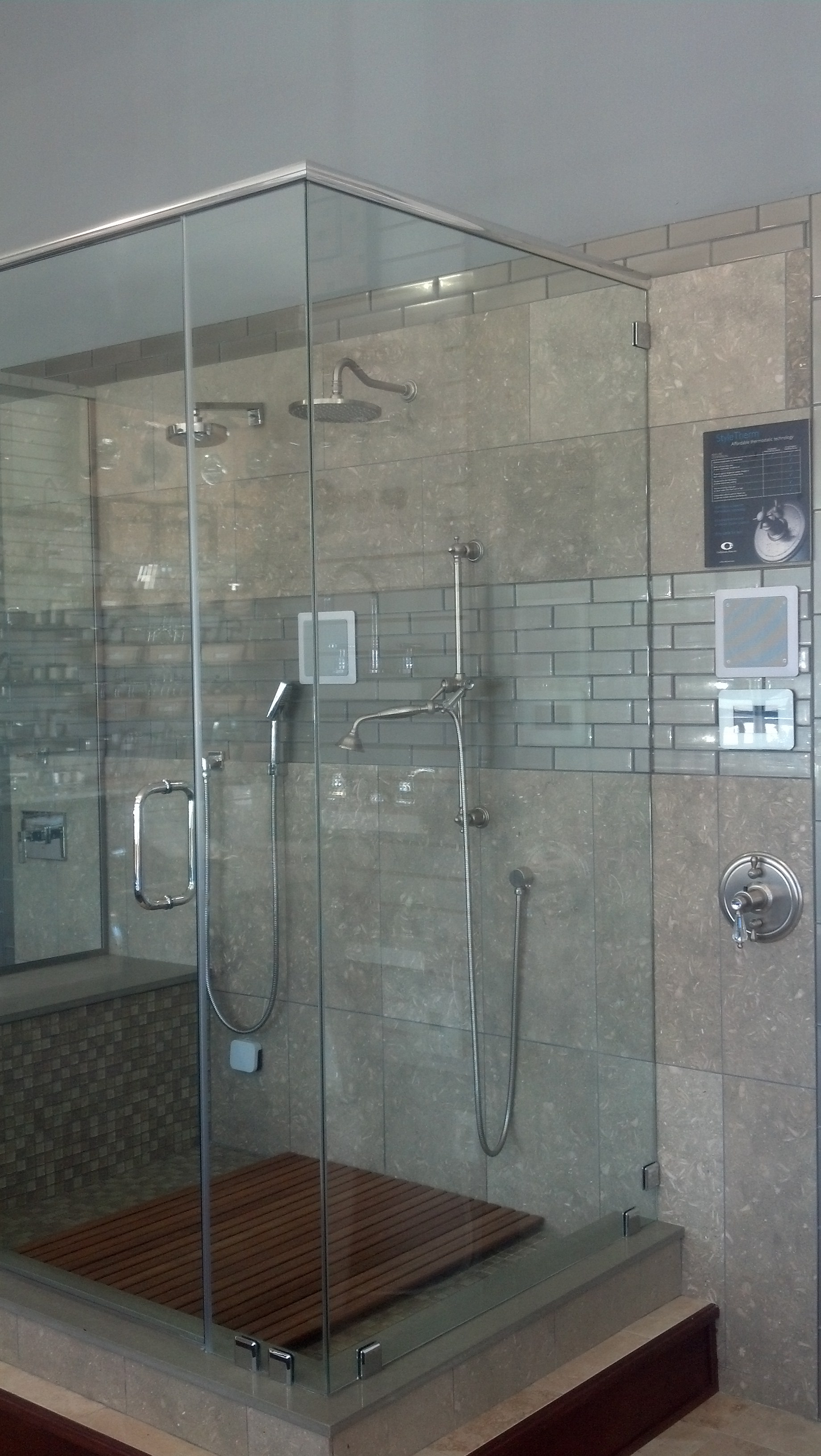 Two important steam shower facts from my house plumbing and hardware - All you need to know about steam showers ...