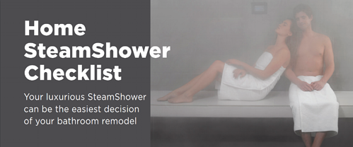 10 Tips to Home Steam Shower Bliss
