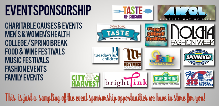 how to get corporate sponsorship for an event