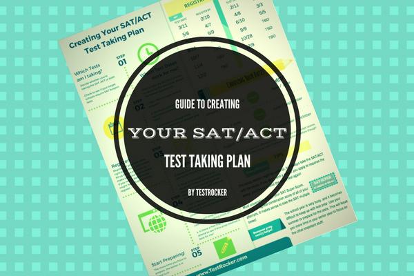 SAT ACT test taking plan