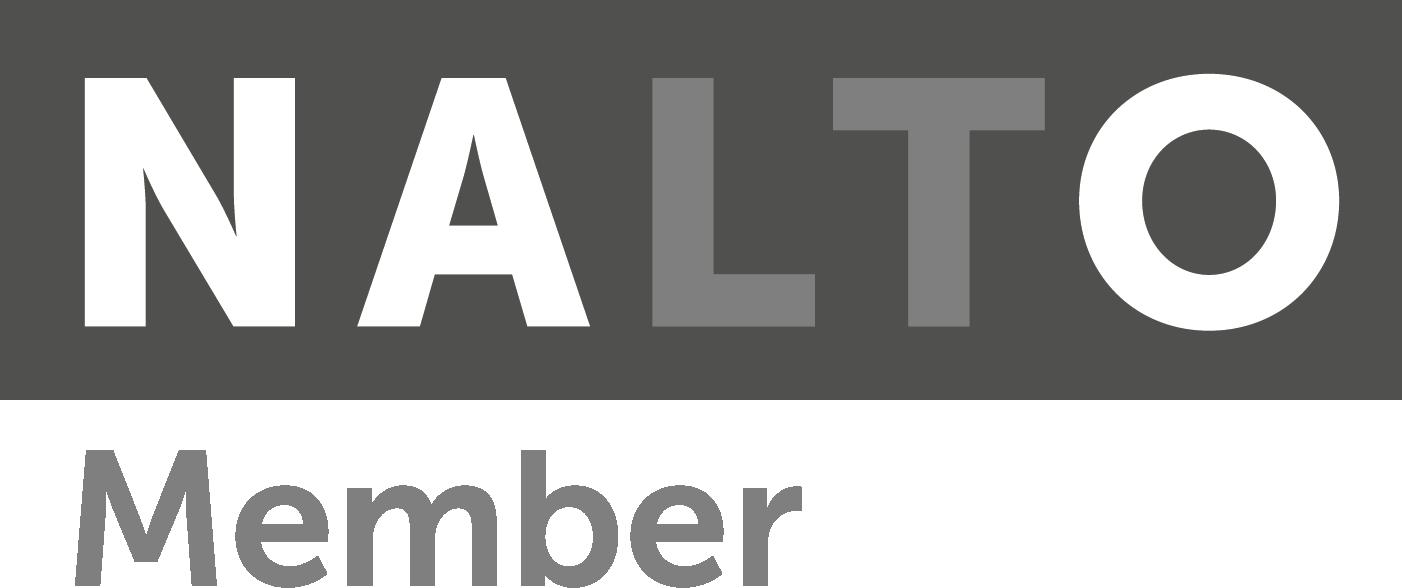 NALTO logos - Production_NALTO Member logo greyscale