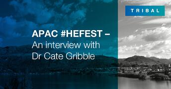 APAC #HEFEST - An interview with Dr Cate Gribble, senior research fellow at RMIT