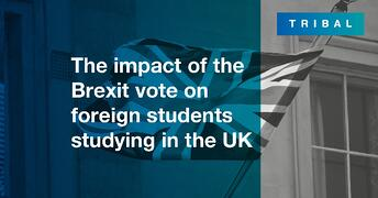 The impact of the Brexit vote on foreign students studying in the UK