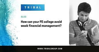 How can your FE college avoid weak financial management?