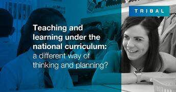 Teaching and learning under the national curriculum: a different way of thinking and planning?