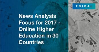 News Analysis Focus for 2017 – Online Higher Education in 30 Countries