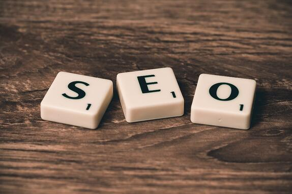 SEO spelled out with scrabble letters to represent the future of SEO