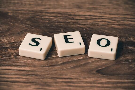 SEO spelled out with scrabble letters to represent SEO mistakes