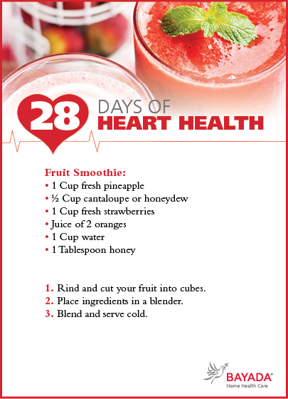 fruits for healthy heart healthy drink recipes with fruit